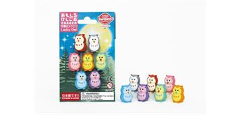 Eraser Lucky Owls