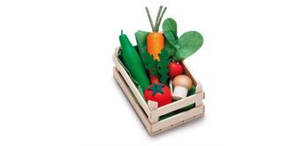 Erzi 28241 - Sortiment Gemüse, klein