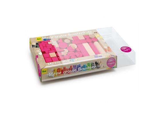 Erzi Bausteinmischung, pink