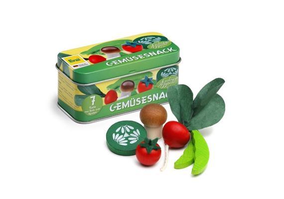 Erzi Gemüsesnack in der Dose