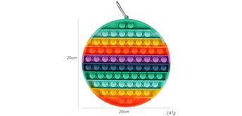 Fidget Game - Pop it Circle XL 20 x 20 cm