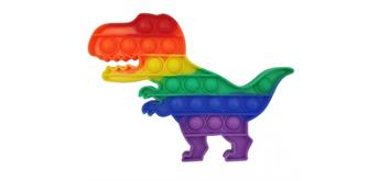 Fidget Game - Pop it Dinosaurs - Rainbow