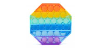 Fidget Game - Pop it Octagon - Rainbow