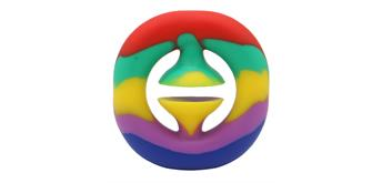 Fidget Game - Pop it - Snapper Rainbow