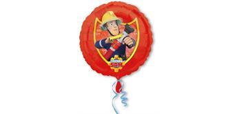 Folienballon Feuerwehrmann Sam, ohne Füllung
