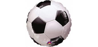 Folienballon Fussball Ø 45, ohne Füllung