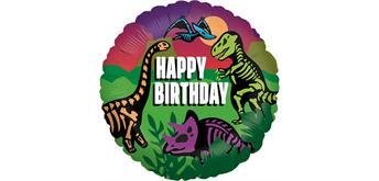 Folienballon Jurassic Birthday
