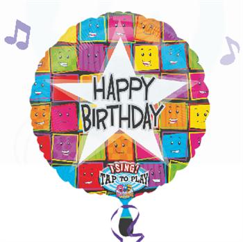 Folienballon mit Musik