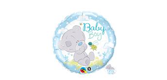 Folienballon Tiny Tatty Teddy Baby Boy Ø 38 cm