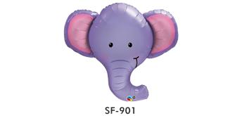 Folienballonfigur Ellie Elephant B 99 cm