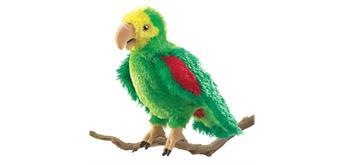 Folkmanis Handpuppe 2592 Amazonen-Papagei