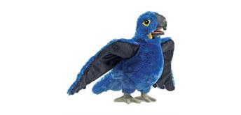Folkmanis Handpuppe 3060 Blauer Papagei