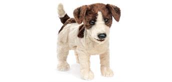 Folkmanis Handpuppe Jack Russell Terrier