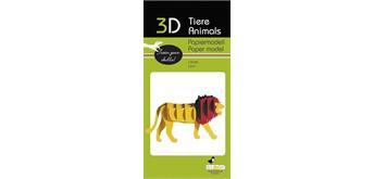 """Fridolin 3-D Papiermodell """"Löwe"""""""
