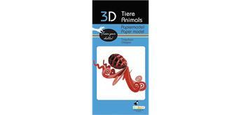 "Fridolin 3-D Papiermodell ""Oktopus"""