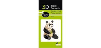 """Fridolin 3-D Papiermodell """"Panda"""""""