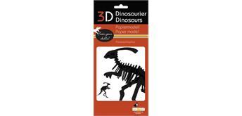 """Fridolin 3-D Papiermodell """"Parasaurolophus"""""""
