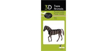 """Fridolin 3-D Papiermodell """"Pferd"""""""