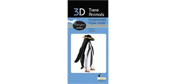 "Fridolin 3-D Papiermodell ""Pinguin"""
