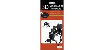 """Fridolin 3-D Papiermodell """"Stegosaurus"""""""