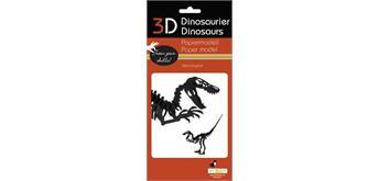 "Fridolin 3-D Papiermodell ""Velociraptor"""