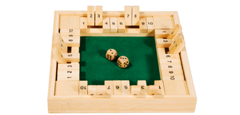 fridolin Shut the Box, 4 Spieler