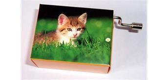 "Fridolin Spieluhr Katzen in der Wiese ""La Le Lu"""