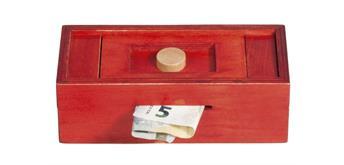 """Fridolin Trick Box für """"Geldnoten"""" -rot/Knöpfe"""