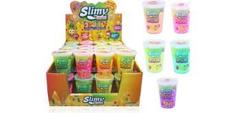Fruity Slimy - 80 gr. Becher - 5-fach sortiert