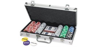 Fun Trading Pokerkoffer 300 Laser-Chips 11,5g