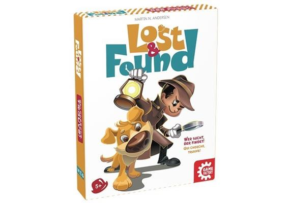 Game Factory Lost & Found (multi), 5+, 2-6Sp.