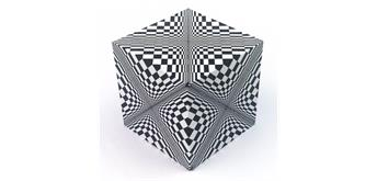 "GeoBender® Cube ""Abstract"""