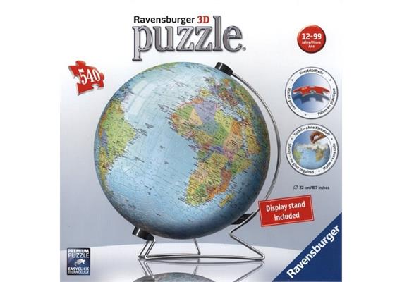 Globus englisch - Puzzleball [540 Teile]