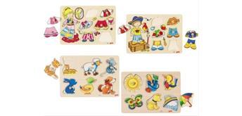 Goki Steckpuzzle sortiert Edition II