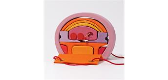 Grimm's 10880 Rosa-Orangenes Bauhaus