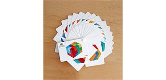 Grimms 43211 Kartenfächer Bauspiel Viereck