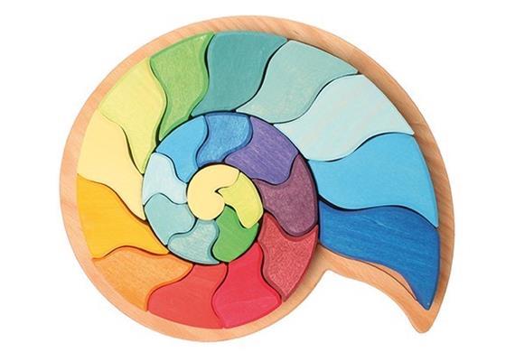 Grimms 43660 Legespiel Ammonit Schnecke