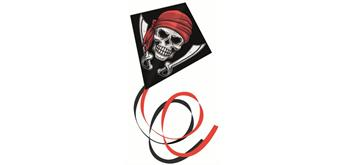 Günther - Kinderdrachen Einleiner Pirat 70 x 70 cm