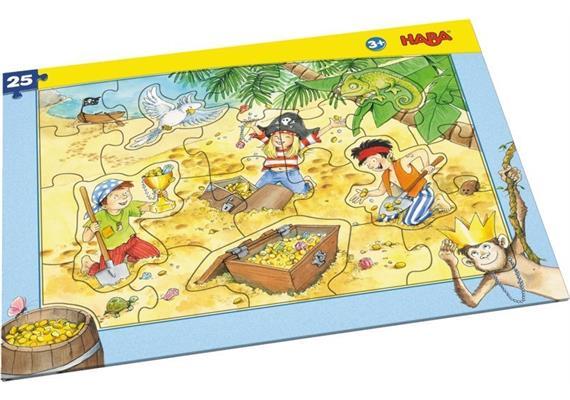 Haba Rahmenpuzzle Piratengold