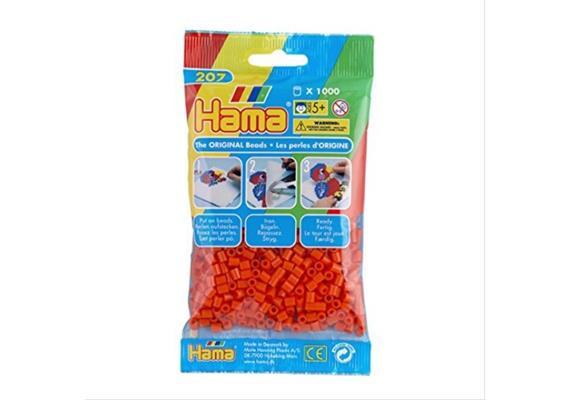 HAMA 207-04 - Bügelperlen orange 1000 Stück