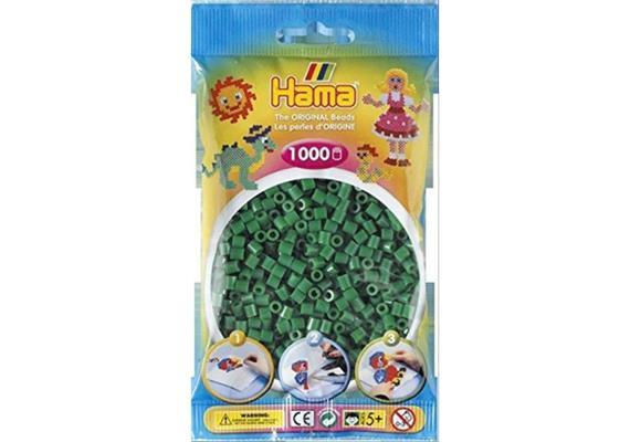 HAMA 207-10 - Bügelperlen grün 1000 Stück