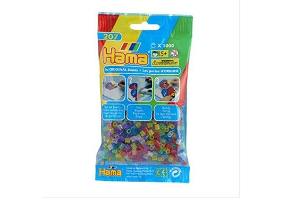 HAMA 207-54 - Bügelperlen Glitter Mix 1000 Stück