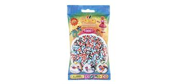 HAMA 207-91 - Bügelperlen gestreift 1000 Stück