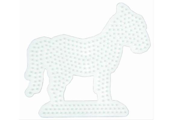 HAMA 281 Stiftplatten MIDI Pferd weiss