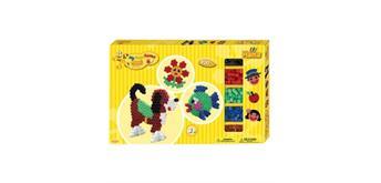 HAMA Bügelperlen Maxi - Gigantische Geschenkpackung gelb - 2 Stiftplatten 900