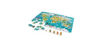 Hape 2 in 1 Weltreise Spiel und Puzzle