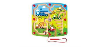 Hape E1713 - Labyrinth - Baufahrzeuge