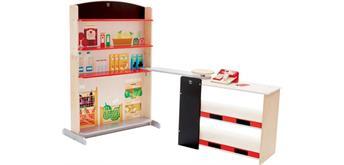 Hape E3159 - Kaufladen mit Kasse und Scanner