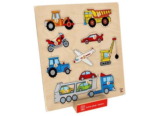 Hape Knopfpuzzle Fahrzeuge