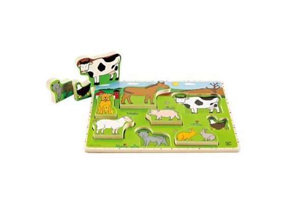 Hape Stehpuzzle Bauernhoftiere